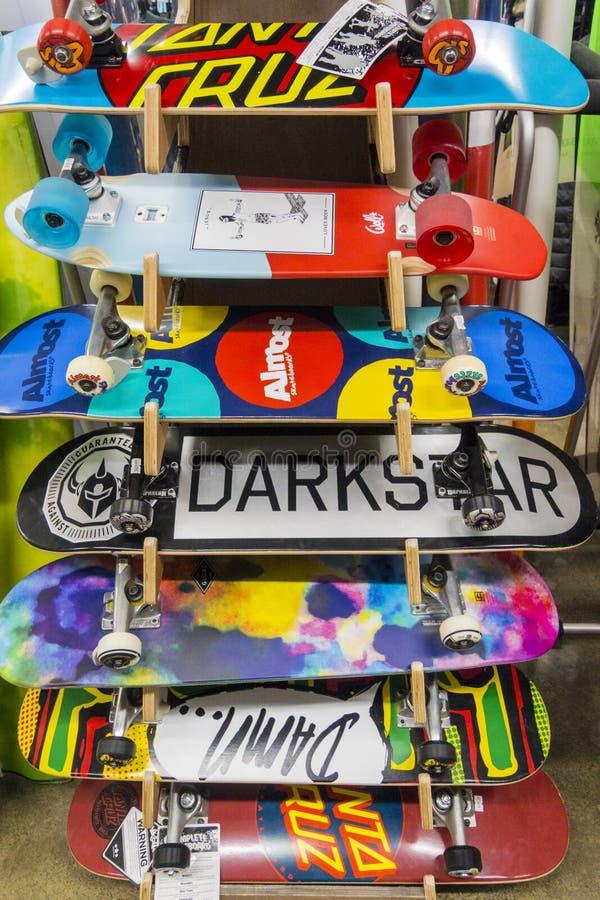 Panneaux de patin images libres de droits
