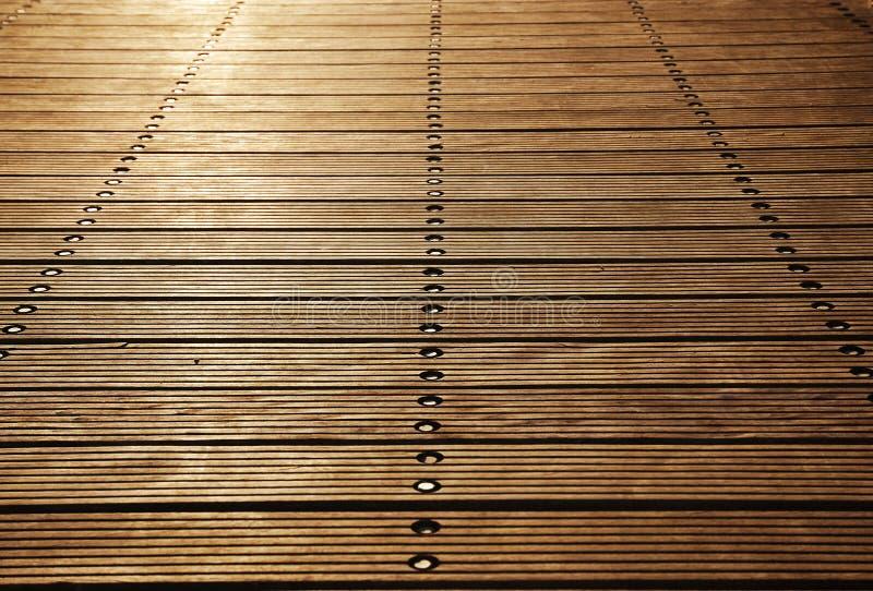 Panneaux de plancher du pilier en bois de Zoutkamp photographie stock libre de droits