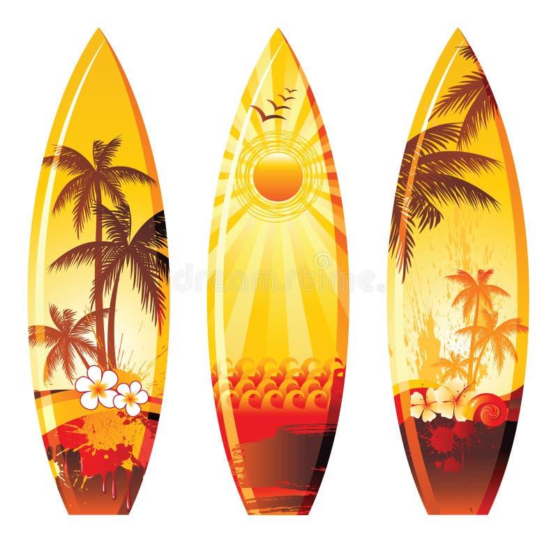 Panneaux de vague déferlante