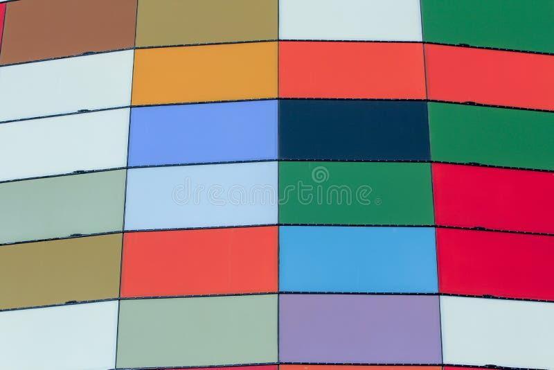 Panneaux extérieurs de couleur images stock