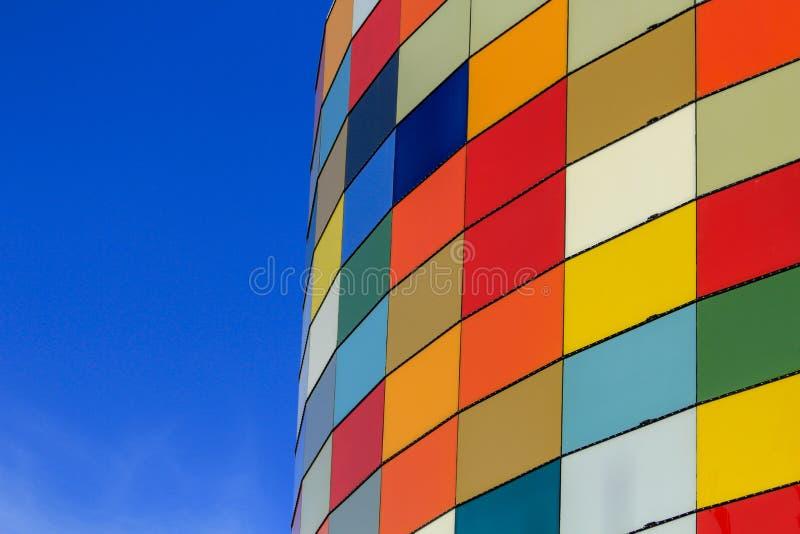 Panneaux extérieurs de couleur images libres de droits