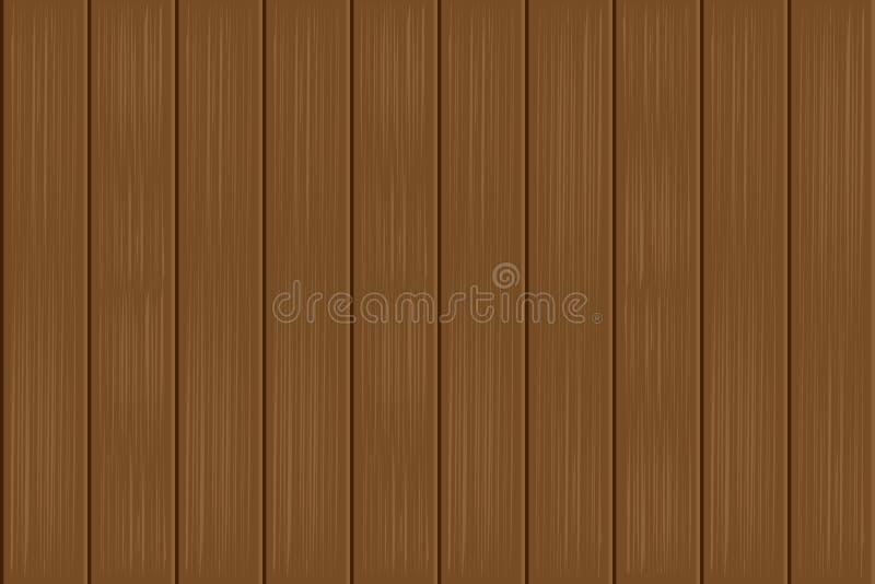 Pannelli del pavimento di vettore vecchi del fondo di legno di struttura Bande verticali illustrazione vettoriale