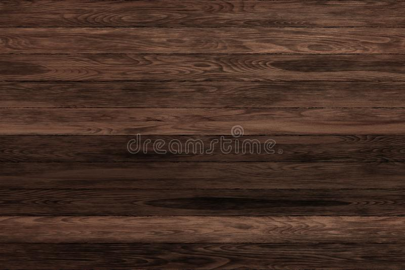 Pannelli scuri di legno di lerciume Fondo delle plance Pavimento d'annata di legno della vecchia parete fotografie stock libere da diritti