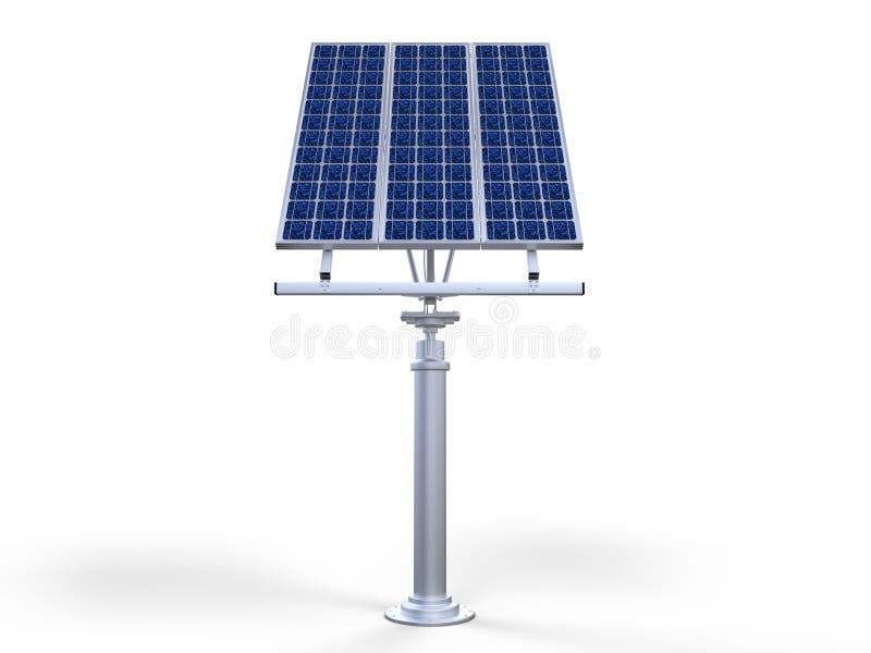 Pannello a celle solari fotografia stock