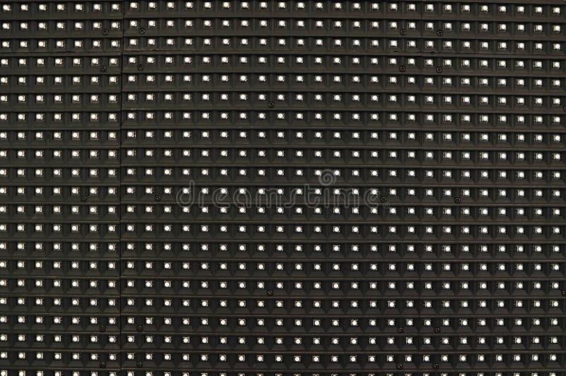 Pannello del LED, primo piano. immagini stock libere da diritti