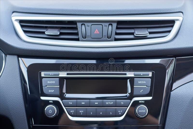 Pannello di console dell'automobile immagine stock