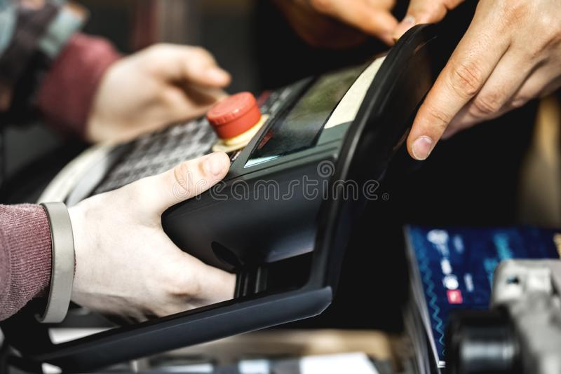 Pannello di controllo elettronico immagini stock libere da diritti
