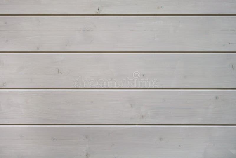 Pannello di legno bianco dipinto fatto da struttura dei fasci immagine stock