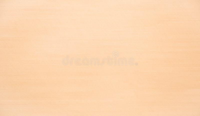 Pannello di legno per mobilia e cucina con superficie beige strutturata Struttura o fondo fotografie stock libere da diritti