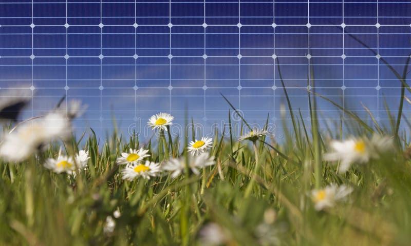 Pannello solare fotografia stock libera da diritti