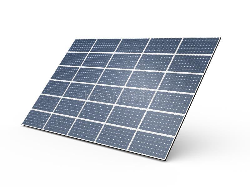 Pannello solare illustrazione di stock