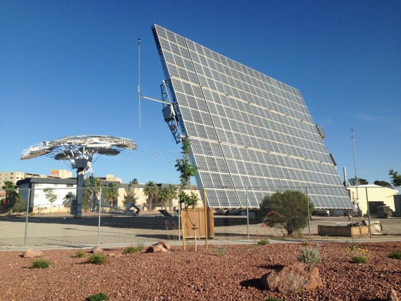 Pannello solare fotografia stock