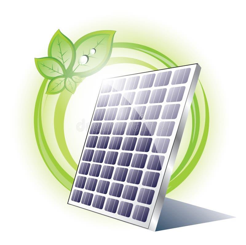 Pannello solare fotografie stock