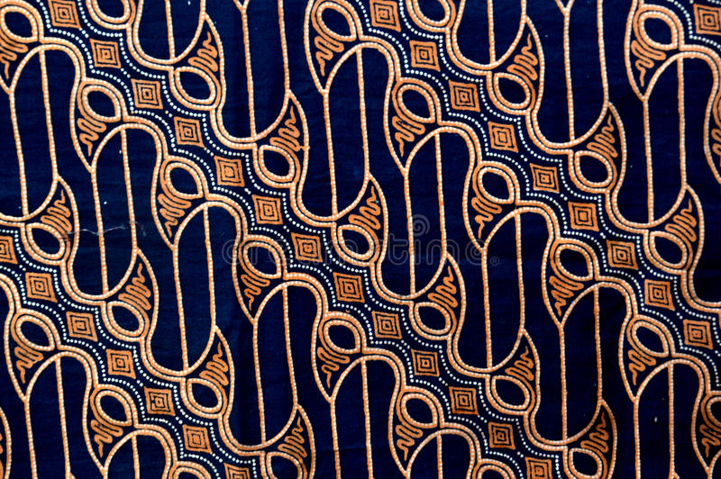 Panno del batik fotografia stock