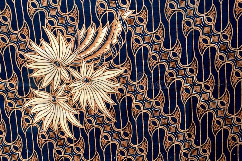 Panno del batik immagini stock