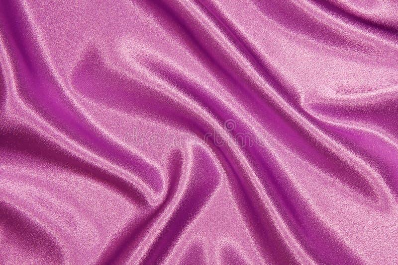 Panno di seta rosa con i popolare fotografie stock