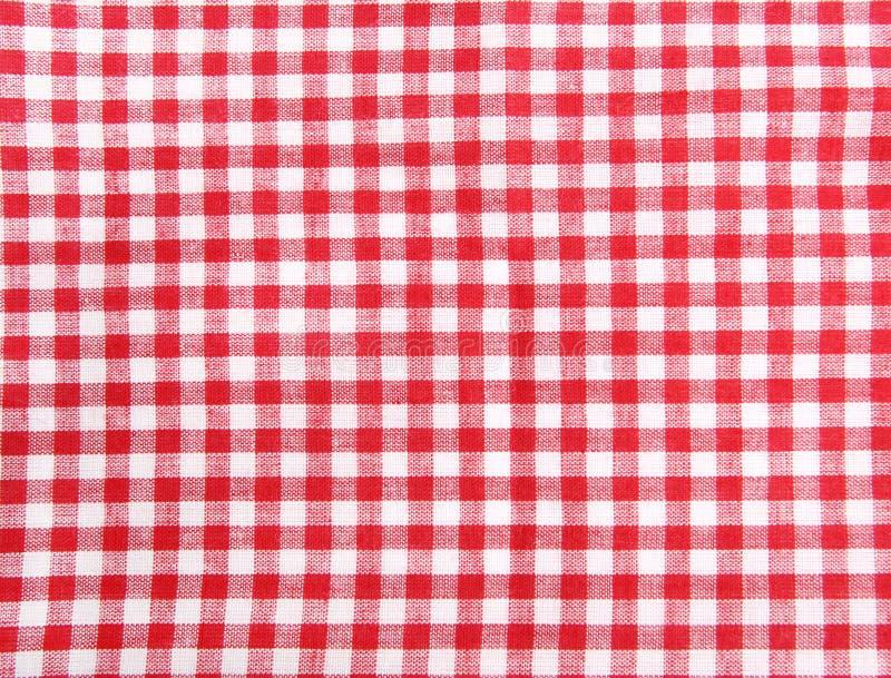Panno di tabella senza giunte di picnic fotografia stock
