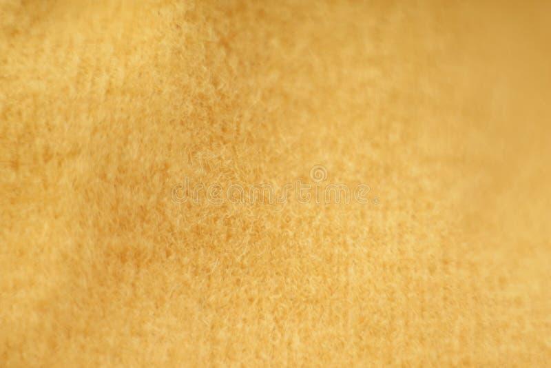 panno giallo Tenerezza immagini stock