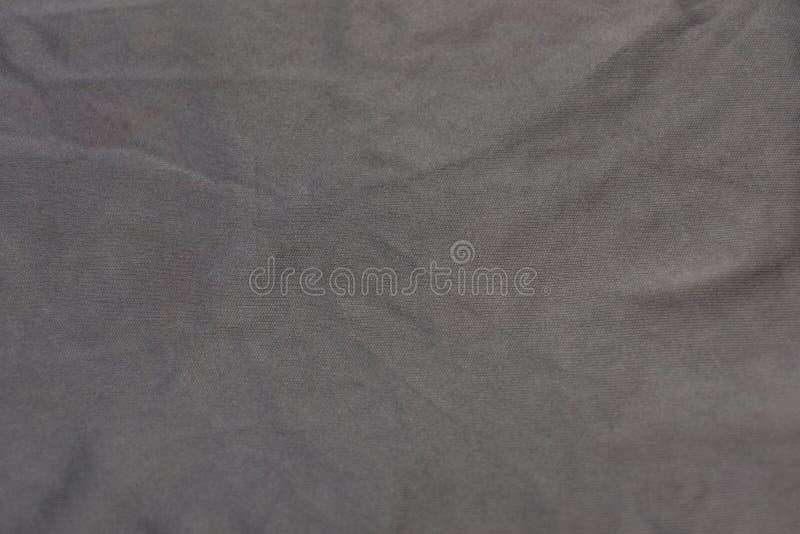 Panno grigio sgualcito fotografia stock libera da diritti