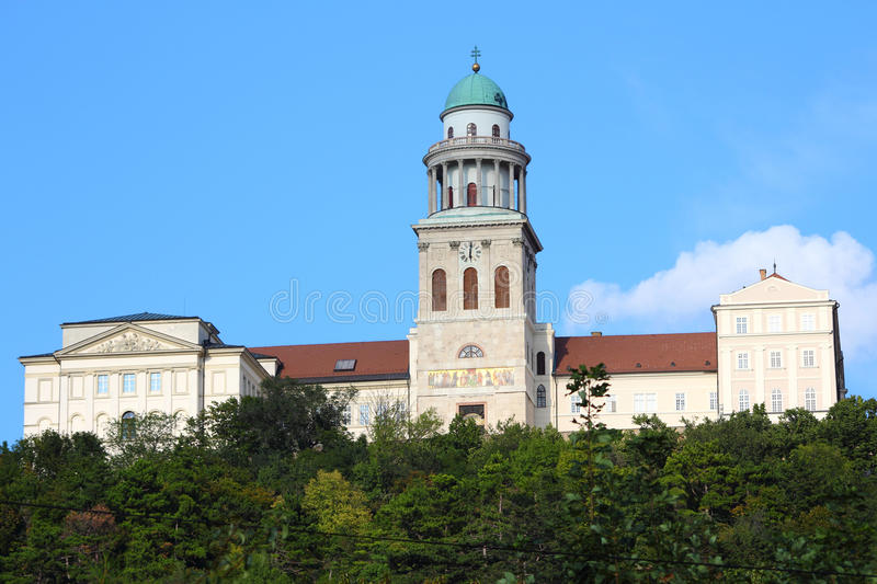 Pannonhalma Abbey. Hungary. Benedictine abbey in Western Transdanubia region, UNESCO World Heritage Site stock photos