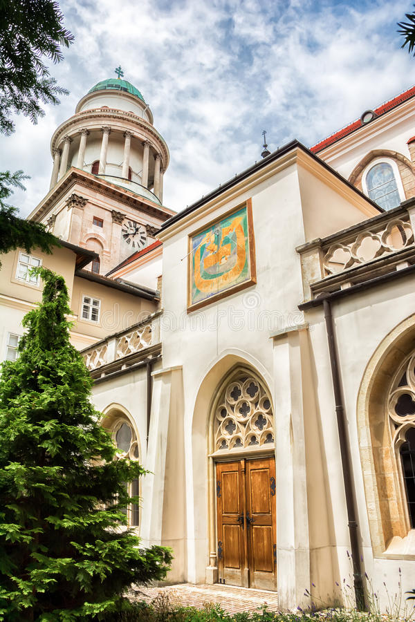 Pannonhalma Abbey, Hungary. Benedictine abbey in Western Transdanubia region, UNESCO World Heritage Site royalty free stock photo