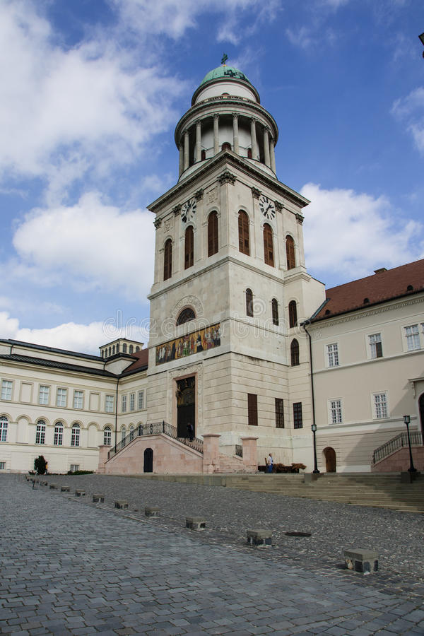 Pannonhalma. The Pannonhalma Monastery, in Hungary royalty free stock photography