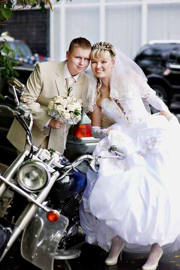 panny młodej fornala motocykl obraz stock