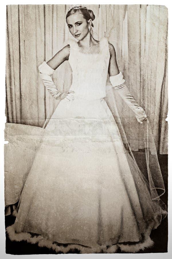 panny młodej grunge zdjęcia stock