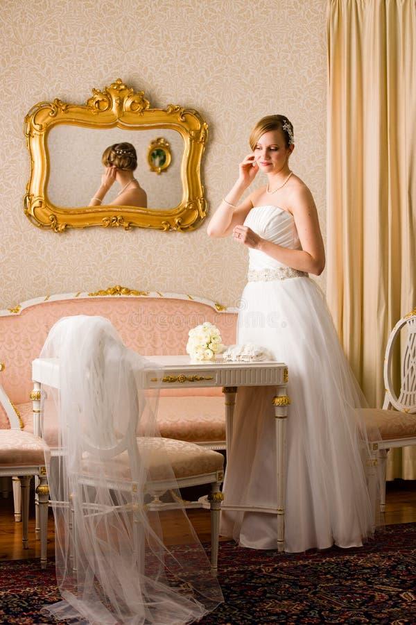 Panny młodej i menchii pokój zdjęcie royalty free