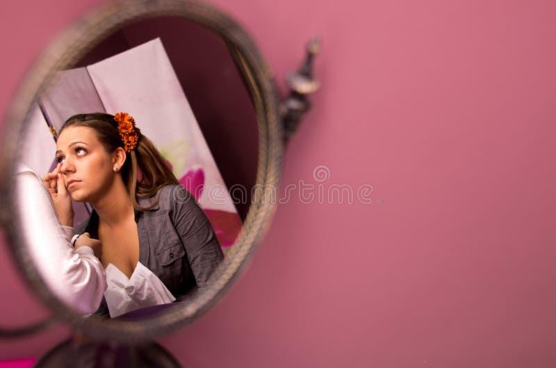 Download Panny młodej makeup zdjęcie stock. Obraz złożonej z dorosły - 28529684