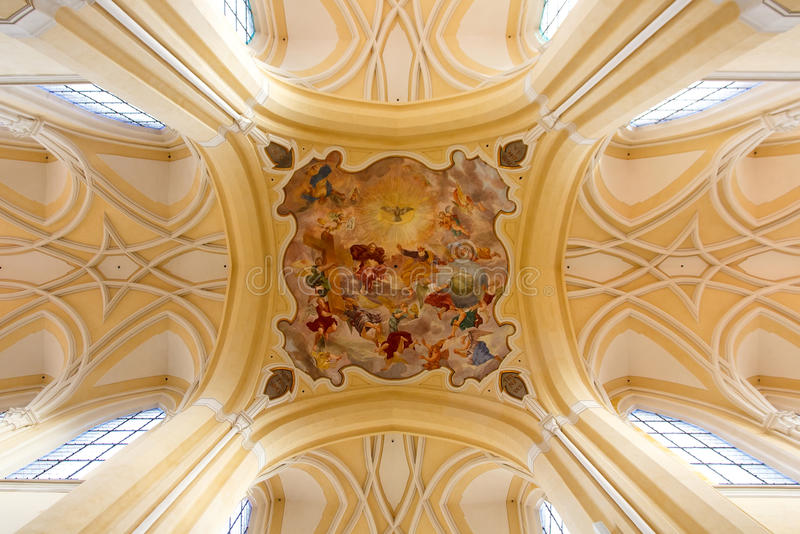 Panny Marie Ceilings painting stock images