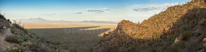 pano 180 βαθμού της ερήμου στην Αριζόνα στοκ εικόνες με δικαίωμα ελεύθερης χρήσης