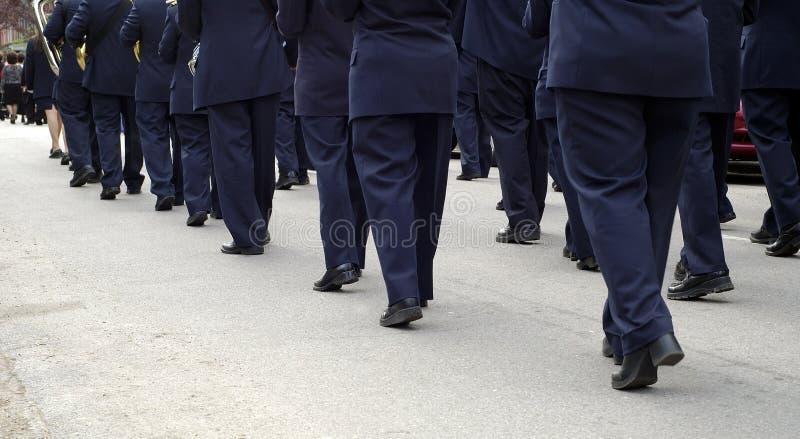 Download Pano πορείας ζωνών στοκ εικόνα. εικόνα από φιλαρμονική - 125381