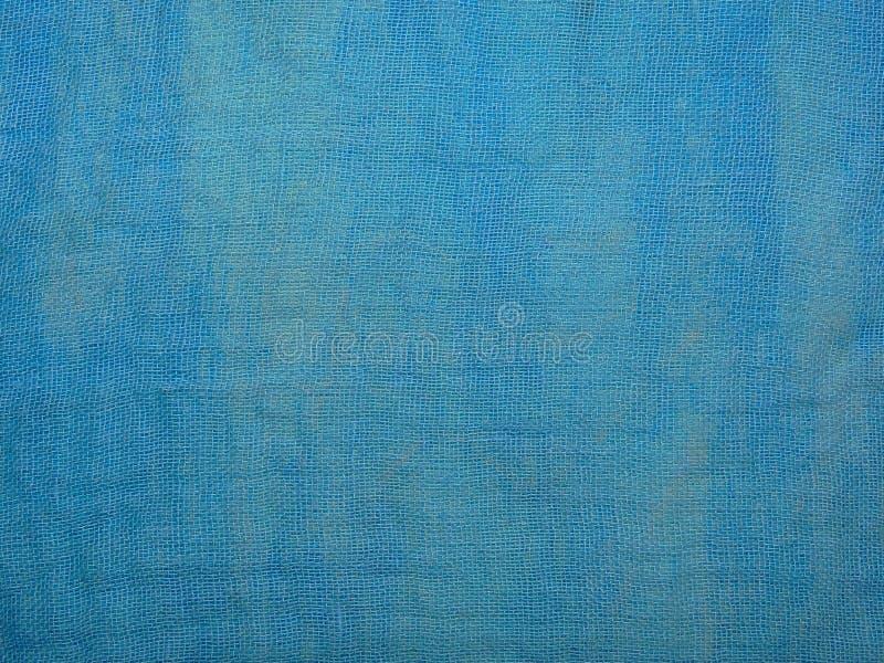 Pano azul foto de stock