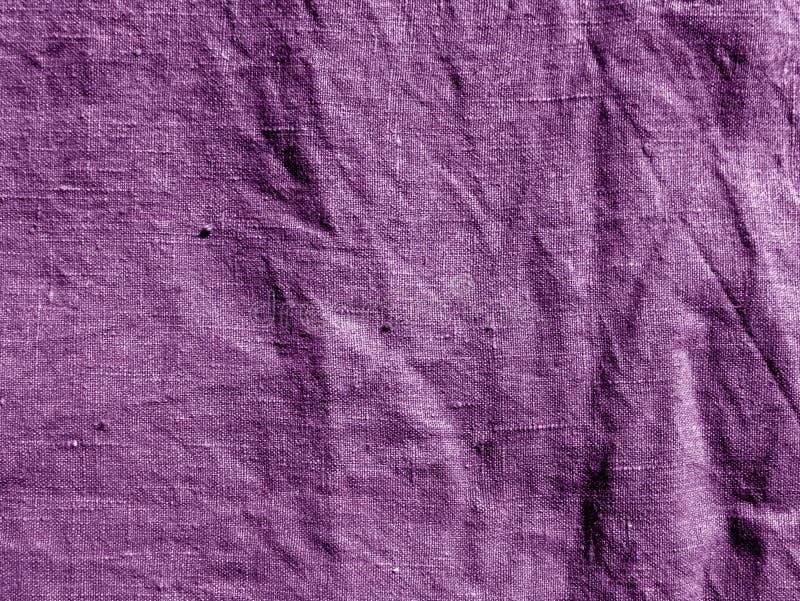 Pano de algodão magenta da cor fotografia de stock royalty free