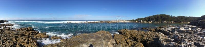 Pano de la bahía de Jervis foto de archivo libre de regalías