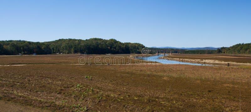 Pano de sécheresse de Hartwell de lac image stock