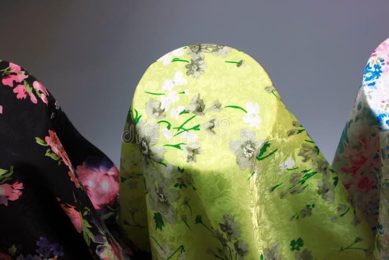Pano de seda imagem de stock