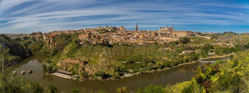 Pano de Toledo, España foto de archivo libre de regalías