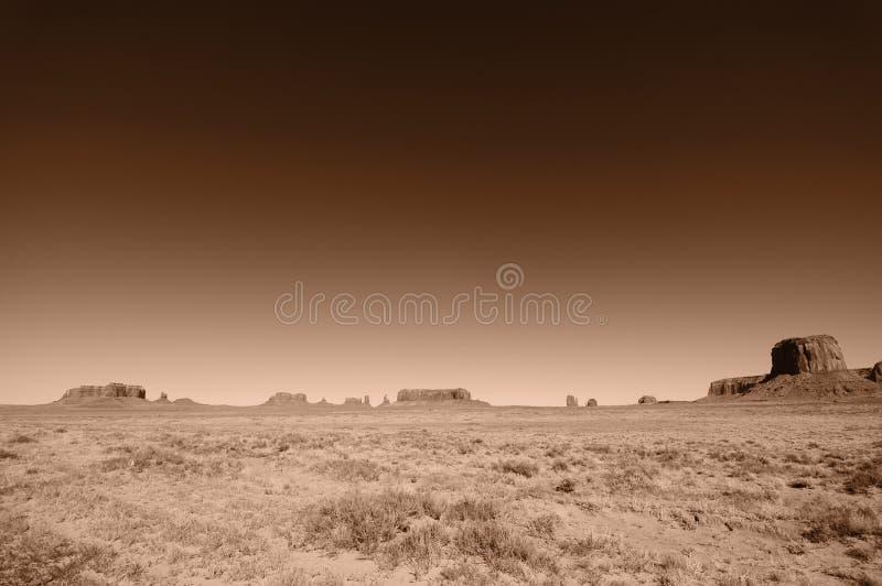 Pano Landschaft des Denkmaltales, Utah, USA lizenzfreie stockfotos