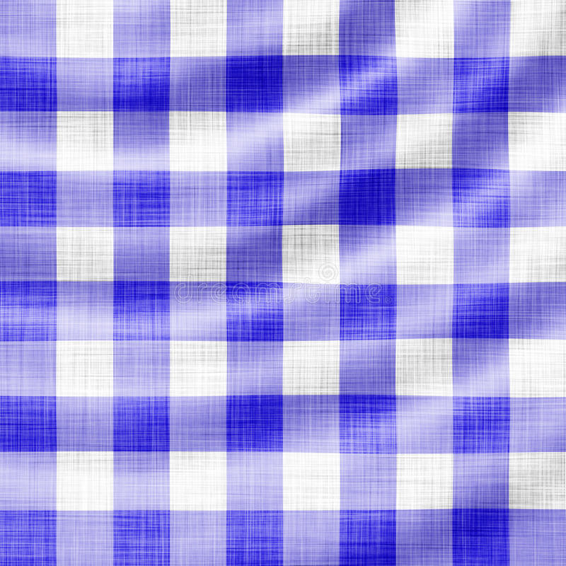 Pano ondulado do piquenique ilustração do vetor