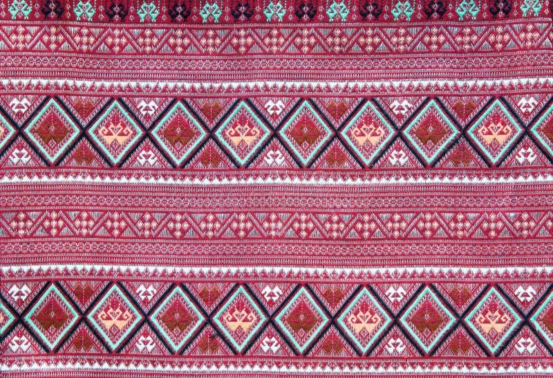 Pano tecido tailandês fotografia de stock