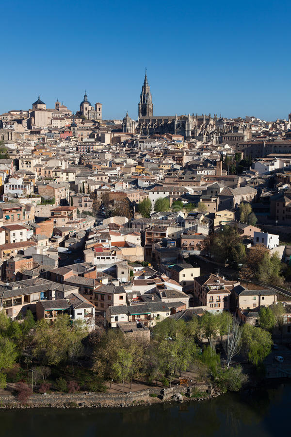 Panorâmico de Toledo imagem de stock royalty free