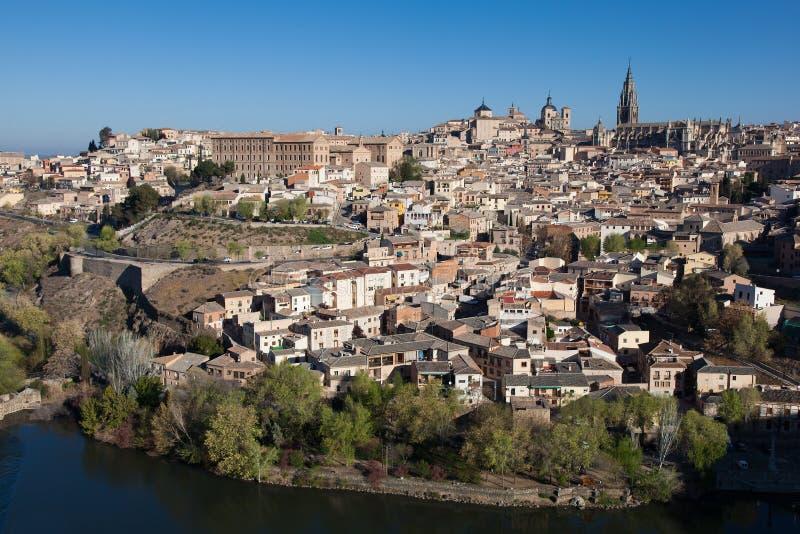 Panorâmico de Toledo fotos de stock