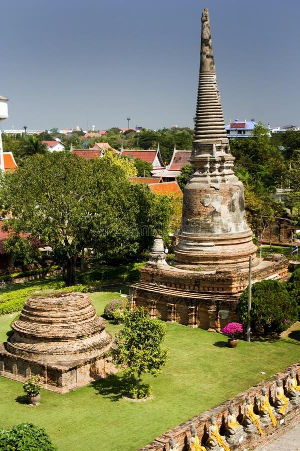 panoram antyczne świątynie Thailand obraz stock