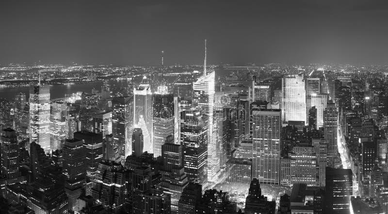 Panoram de Times Square de New York City Manhattan photo stock