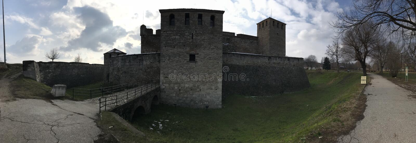 Baba Vida Fortress, Vidin, Bulgaria stock photo