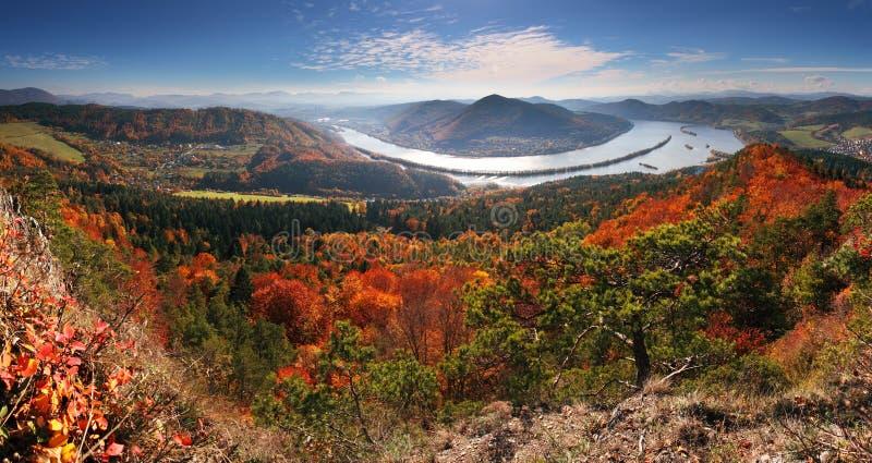 Panorama à l'automne de Klapy maximal image libre de droits