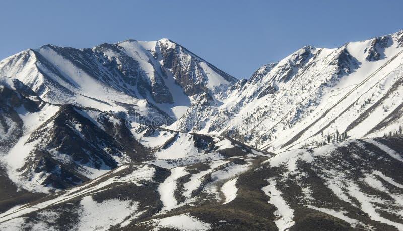 Panorama über Sierra Nevada stockbild