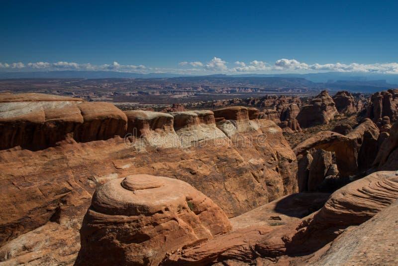 Panorama łuku park narodowy obrazy stock